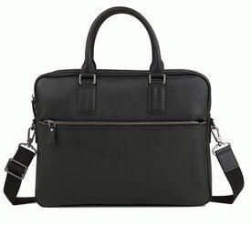 Кожаный мужской черный портфель Bexhill