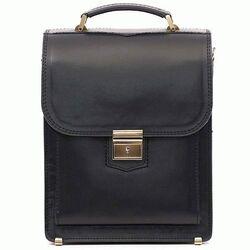 Кожаная сумка-барсетка SPB-2Black