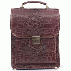 Кожаная сумка-барсетка SPB-2CBr