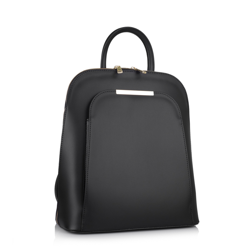 Женский кожаный рюкзак Virginia Conti (Италия) - VC01345black ... 03f8a52e2af