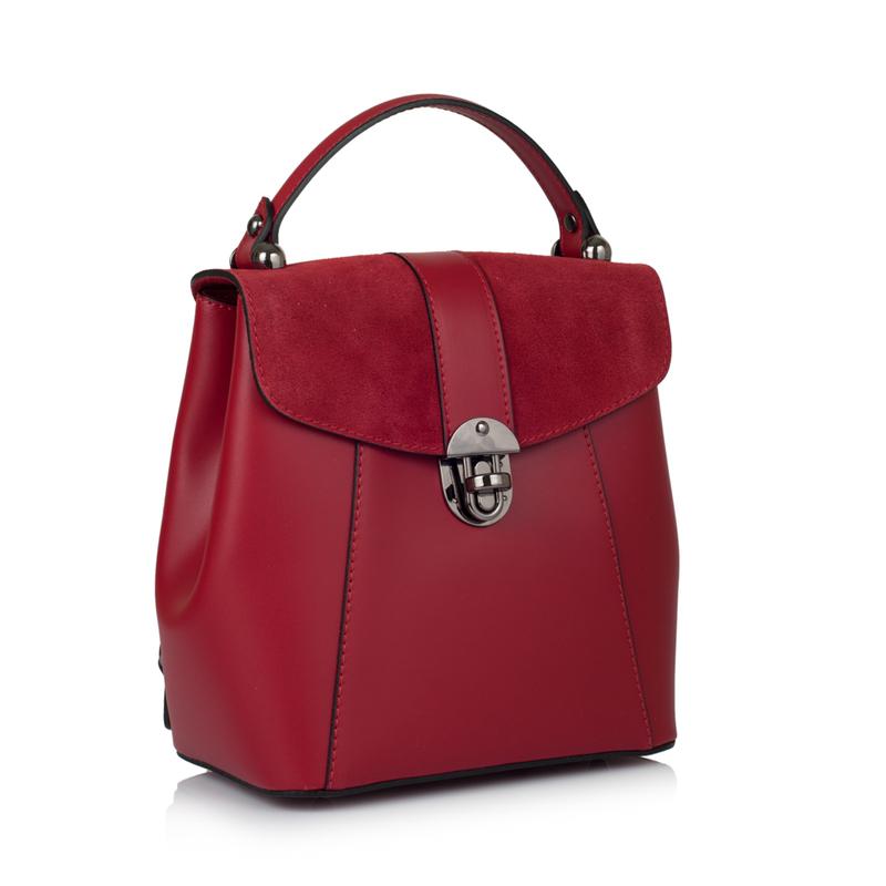 Кожаная женская сумка-рюкзак Virginia Conti (Италия) 10908   Купить ... 0247ba75cb5