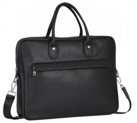 Мужской кожаный портфель Tiding Bag id
