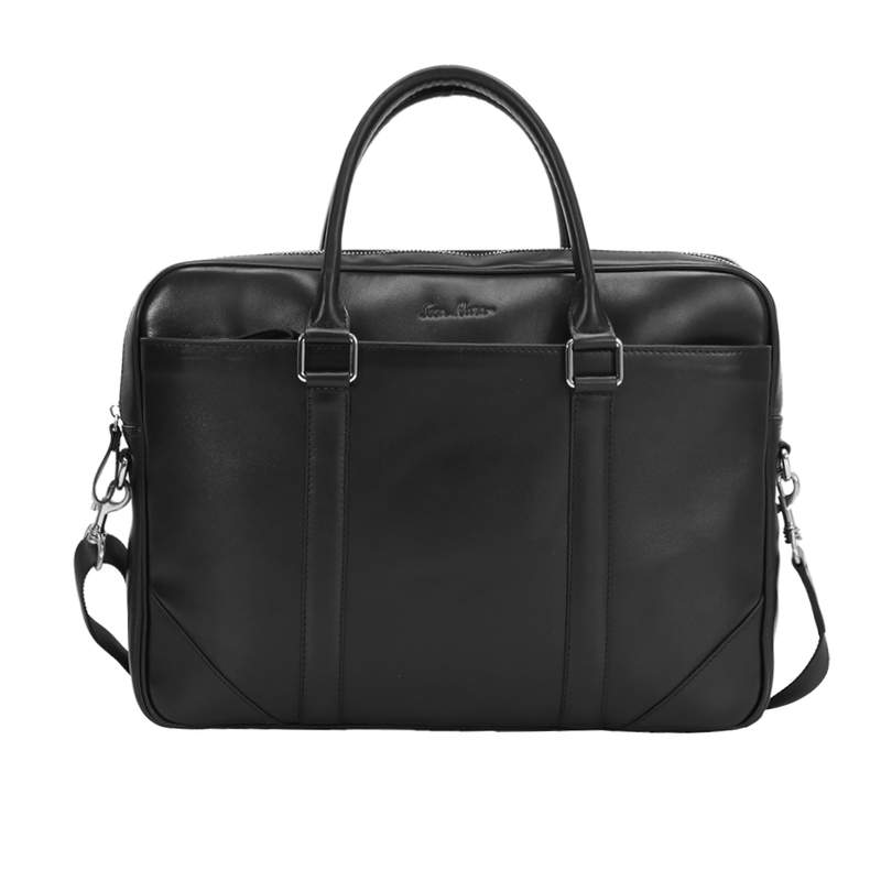 Кожаный мужской портфель Issa Hara 12864 - фото 1