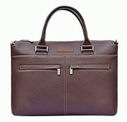 "Кожаная сумка для ноутбука 12""-14"" Issa Hara id"