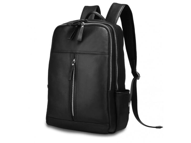 Кожаный мужской рюкзак TIDING 14054 - фото 1