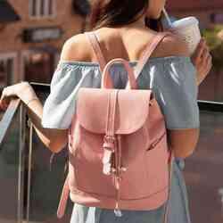 Кожаный рюкзак BlankNote Олсен барби id