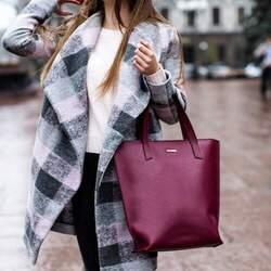 Женская кожаная сумка Blanknote D.D. Виноград
