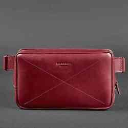 Кожаная сумка на пояс Blanknote DROPBAG MAXI id