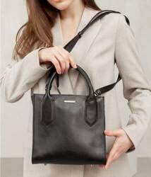 Кожаная женская сумка-кроссбоди Blanknote id