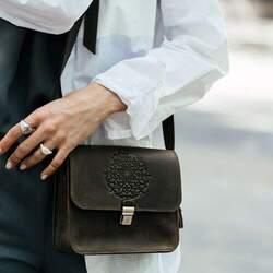 Женская коричневая сумка Blanknote id