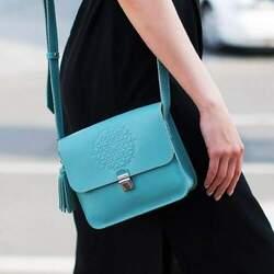 Женская синяя сумка Blanknote id