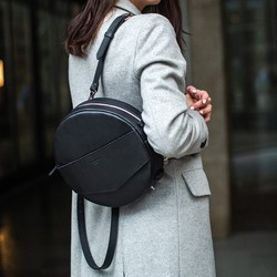 Круглая сумка-рюкзак BlankNote MAXI Графит