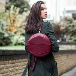 Круглая сумка-рюкзак BlankNote MAXI Виноград id
