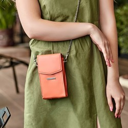 Женская кожаная сумка Mini поясная/кроссбоди