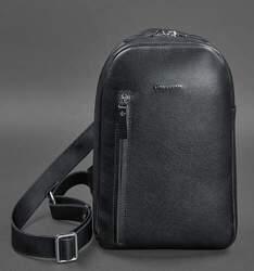 Кожаный рюкзак (сумка-слинг) на одно плечо Chest Bag