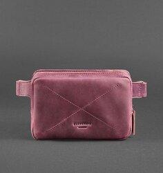 Кожаная сумка на пояс Blanknote Виноград