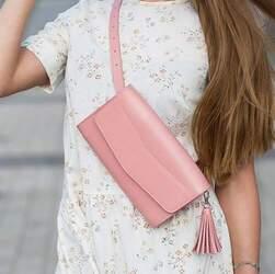 "Женская сумка Blanknote ""Элис"" Розовый персик id"