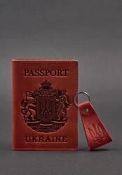 Подарочный набор кожаных аксессуаров с украинской символикой BlankNote id