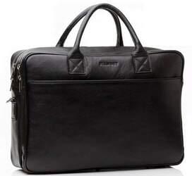 """Мужская кожаная сумка для ноутбука 15,6"""" Blamont"""