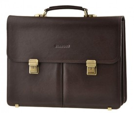 Мужской кожаный портфель Blamont