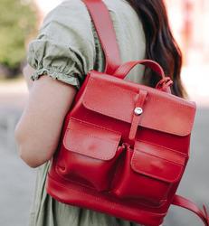 "Кожаный рюкзак Level ""Бейби Боббер"""