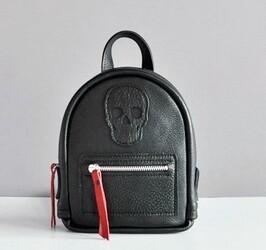 Кожаный рюкзак JIZUZ BABY SPORT SKULL BLACK id