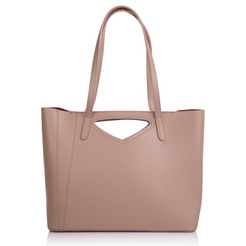 Стильная кожаная сумка Virginia Conti 9444 - фото 1