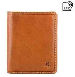 Мужской кожаный кошелек Visconti DRW41 Galen (Oak Tan)