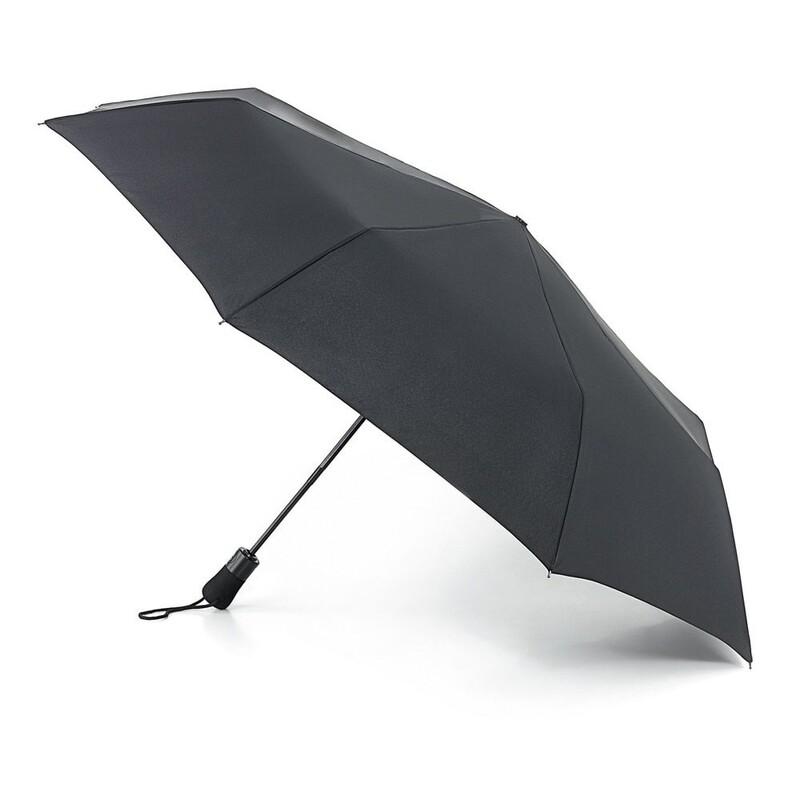 Зонт мужской Fulton Open&Close Jumbo-1 G323 Black (Черный) 13694 - фото 1