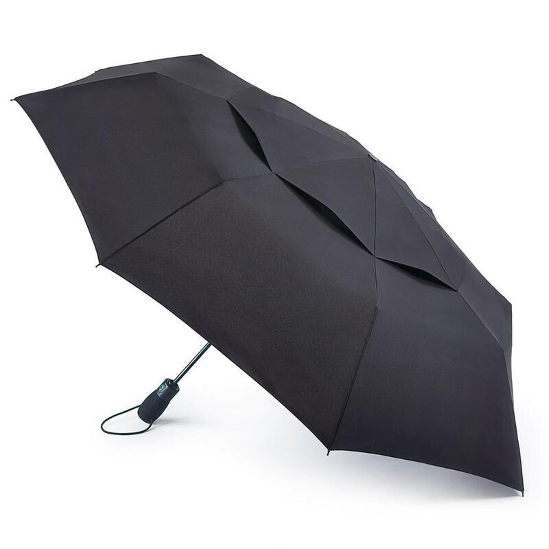Зонт мужской Fulton Tornado G840 Black (Черный) 13718 - фото 1