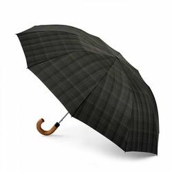 Зонт мужской Fulton Dalston-2 G857 Charcoal Check (Клетка) id
