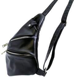 Кожаный рюкзак на одно плечо TARWA id