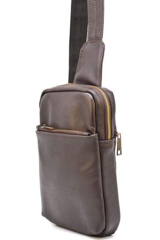 Мужская сумка-рюкзак через плечо TARWA 19356 - фото 1