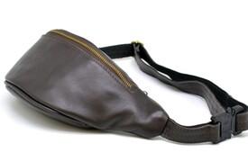 Кожаная сумка на пояс TARWA id