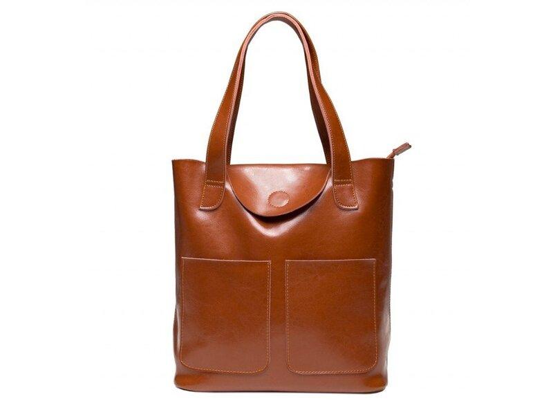 Кожаная женская сумка Grays 12448 - фото 1