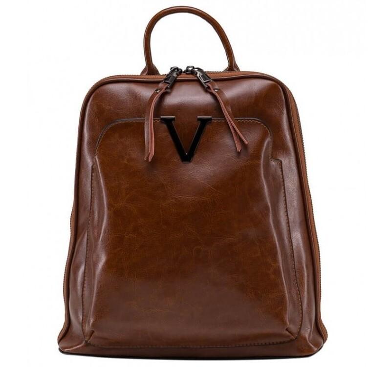 Кожаный рюкзак GRAYS 17997 - фото 1