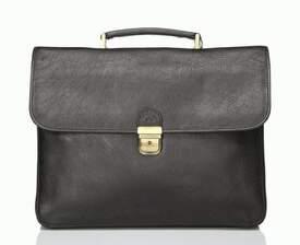 Классический кожаный портфель Katana (Франция)