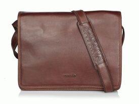Кожаная сумка через плечо Katana (Франция) k36106-2