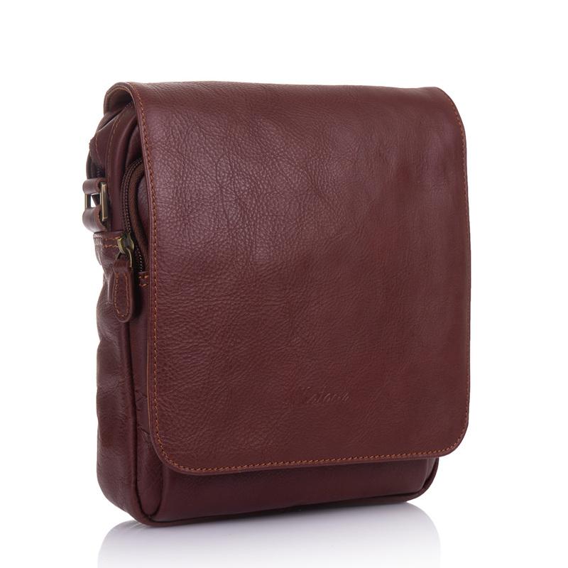 Кожаная сумка через плечо Katana (Франция) 18761 - фото 1