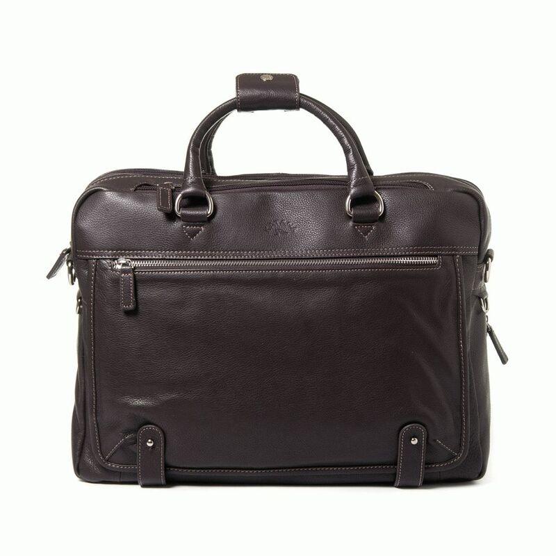 f2f3a3be596d Кожаная сумка для ноутбука 15,6