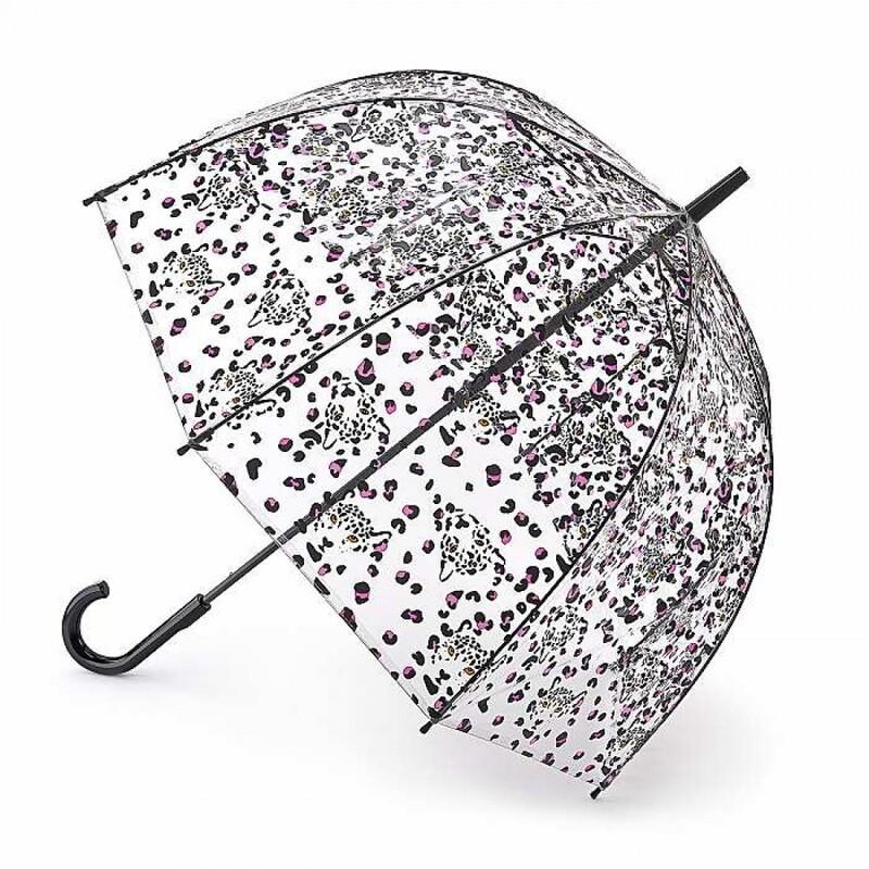 Зонт женский Fulton Birdcage-2 L042 Leopard Camo (Леопардовый Камуфляж) 13906 - фото 1