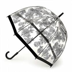 Зонт женский Fulton Birdcage-2 L042 Black Rose (Черная роза)