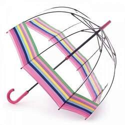 Зонт женский Fulton Birdcage-2 L042 Colour Burst Stripe (Цветные полосы)