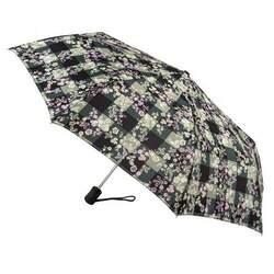 Зонт женский Fulton Open & Close-4 L346 Gingham Ditsy (Цветы) id