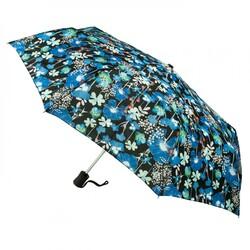 Зонт женский Fulton Open & Close-4 L346 Hanging Basket (Цветы)