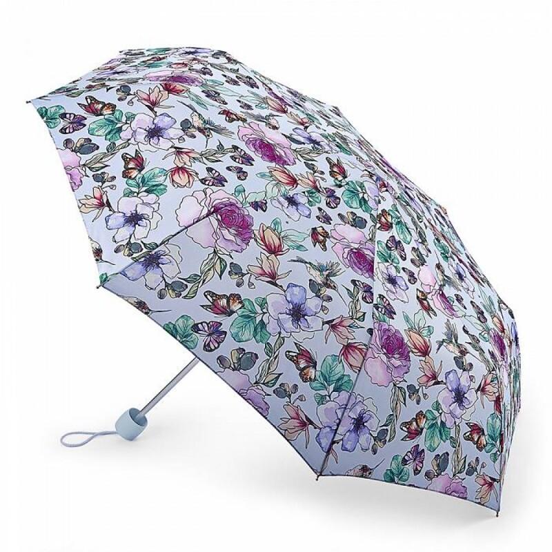 Зонт женский Fulton Minilite-2 L354 Garden Of Eden (Сад Эдема) 13621 - фото 1