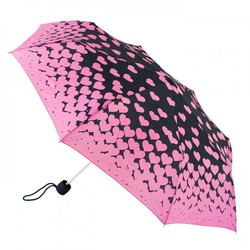 Зонт женский Fulton Minilite-2 L354 Floating Hearts (Плавающие сердца)