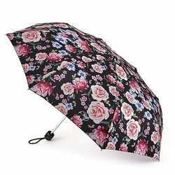 Зонт женский Fulton Minilite-2 L354 Sketched Bouquet (Цветочный эскиз) id