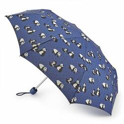 Зонт женский Fulton Minilite-2 L354 Pin Spot Panda (Веселые Панды)