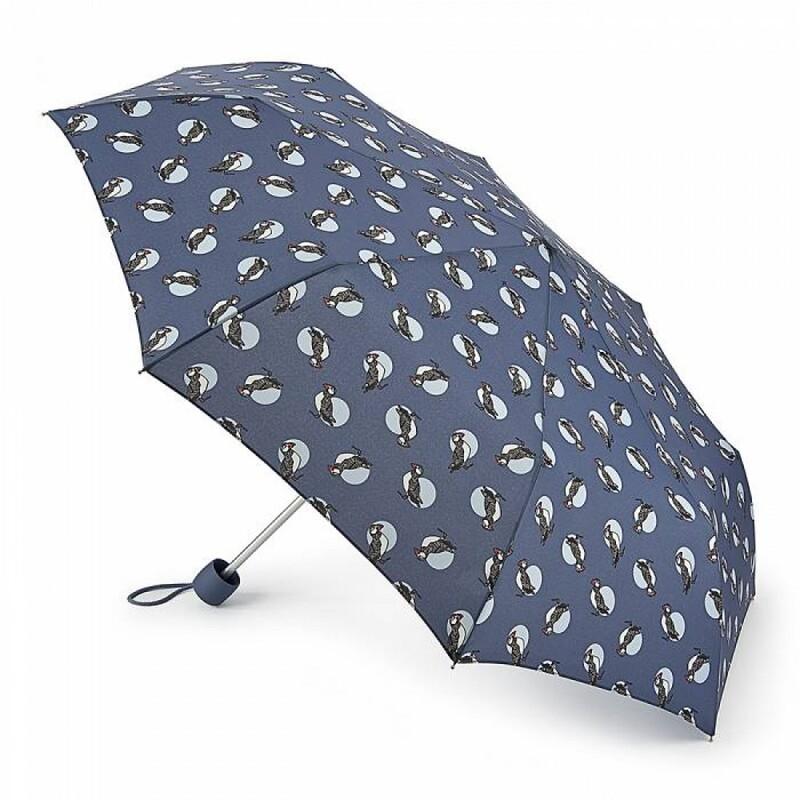 Зонт женский Fulton Minilite-2 L354 Puffin (Буревестник) 13631 - фото 1